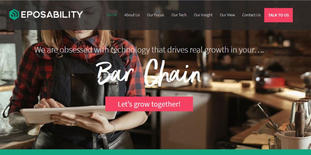 copywriting for B2B tech website